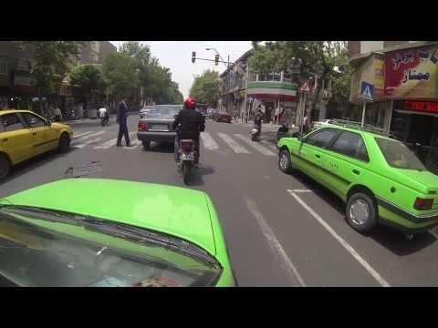 Watch : İRAN -- Tahran Trafik.