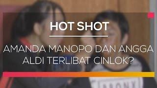 Amanda Manopo dan Angga Aldi Terlibat Cinlok - Hot Shot
