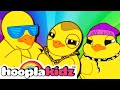 Six Little Ducks | HooplaKidz Nursery Rhymes & Kids Songs