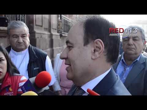VIDEO Michoacán será prioridad en materia de seguridad para el gobierno de AMLO: Alfonso Durazo Montaño