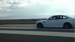 1995 Toyota Supra (700 HP) Vs. 2007 BMW M3 (700 HP) @ Airstrip Attack