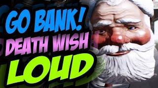 PAYDAY 2 - GO BANK ASALTO DEATH WISH - PROBANDO EL SAD ALMIR!!