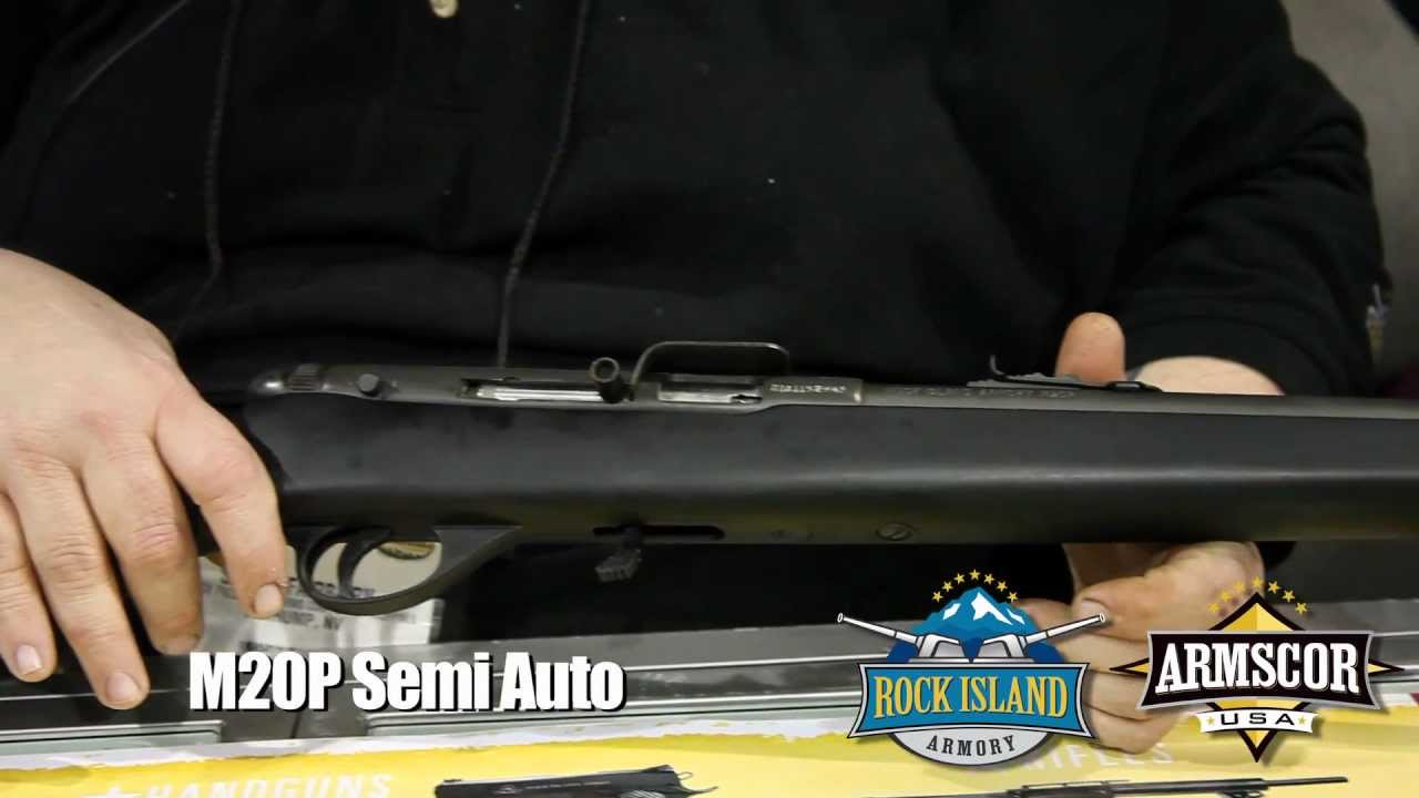 Rock Island Armory - M20P Semi Automatic Rifle - SHOT Show 2012