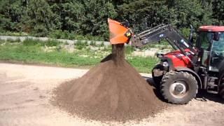 Video still for ALLU Transformer Screener Crusher - Screening Topsoil
