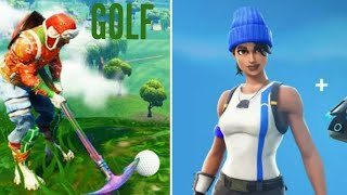 GOLF MAP UND SKIN DES BLUE TEAM LEADER (FORTNITE)
