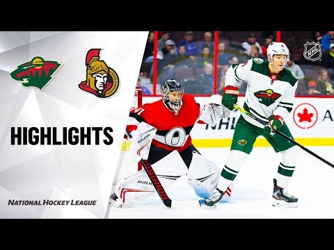 nhl-highlights-|-wild-@-senators-10/14/19