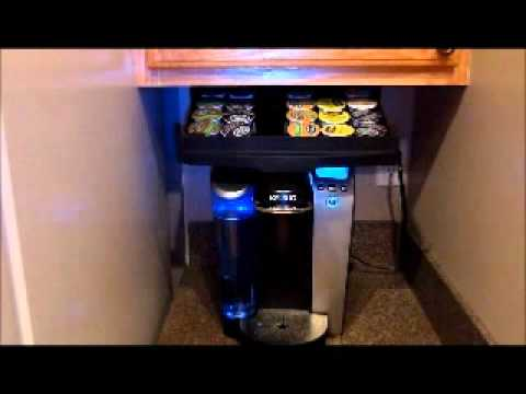 k-cup storage - YouTube