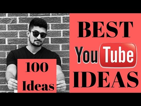 YouTube Channel Ideas (Beginners, Kids, Girls & Boys)