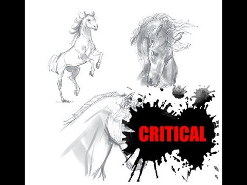 [그리다]드로잉 - 말 - 그림 그리기 [Grida] Horse Drawing Speed Drawing