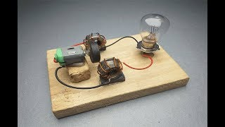 New Easy Free Energy Experiment Generator 100% at home.