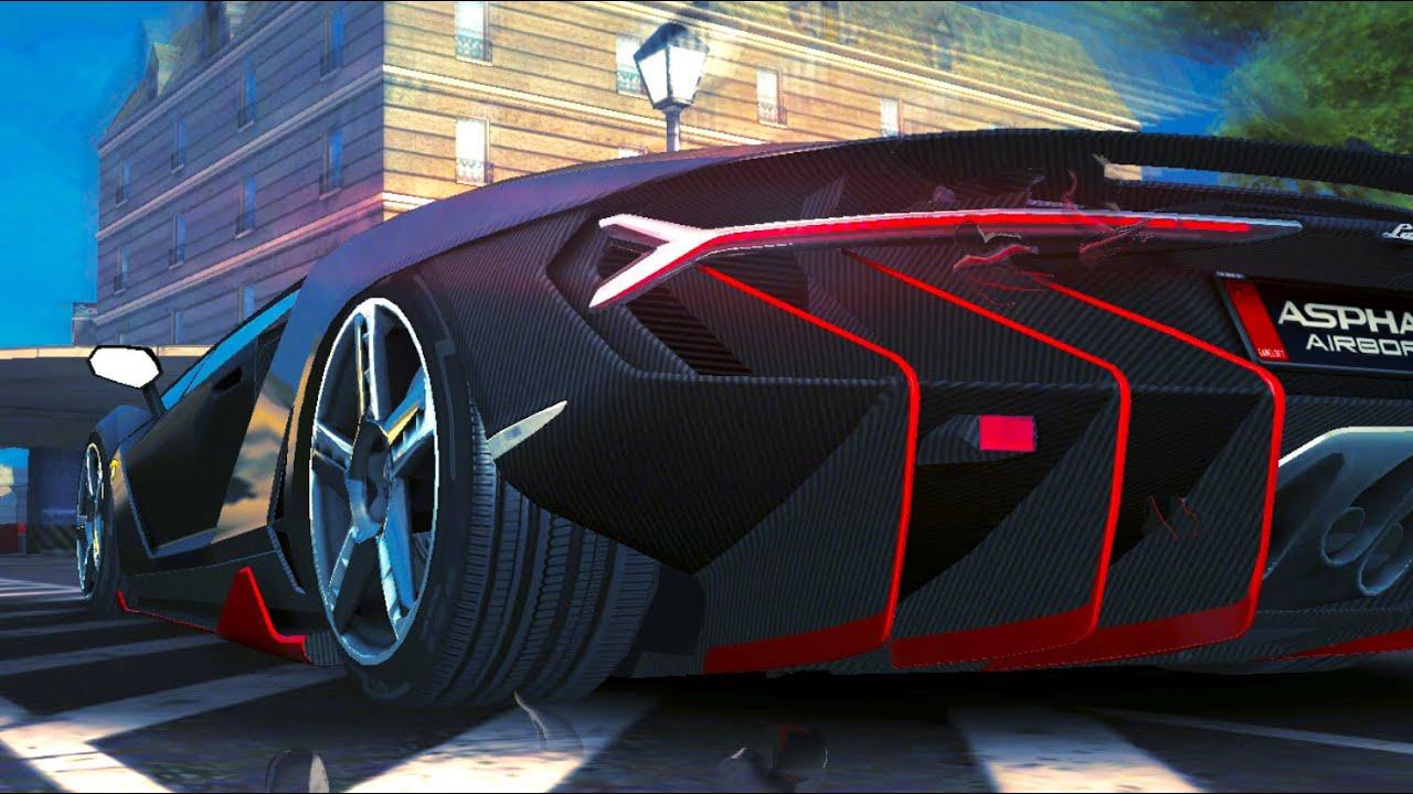 Asphalt 8 Lamborghini Centenario R D First Races Youtube