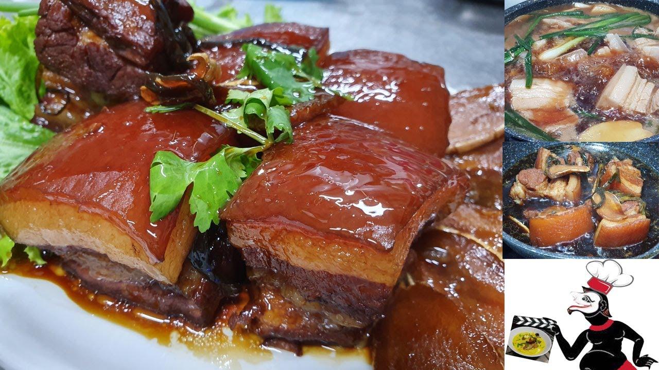 หมูสามชั้นตุ๋นซีอิ๊ว นุ่มละมุนลิ้น ทำได้ง่าย ๆ ความอร่อยระดับเหลา