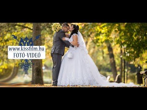 Nikoletta és István esküvője Nyíregyházán (Safari Panzió)