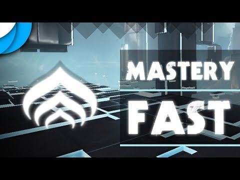 How To Get Mastery XP & Level Up Fast! | Warframe 2018