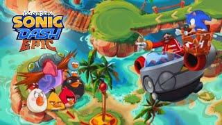 Angry Birds Epic: Unlocking Illusionist New Yellow Bird Class - Sonic Dash Event