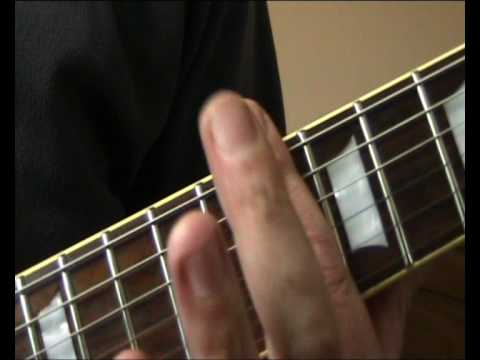 Ron Wood guitar lesson for dummies (Too Bad)