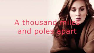 Skyfall - Adele - Karaoke male version lower (-3) James Bond 007