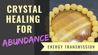 "[Multi Sub] Crystal Healing for ""Abundance"" (3) [中文字幕] 水晶療癒系列 ""財富"" (3)"