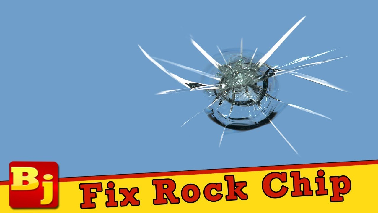 Rock Chip Repair >> How To Repair A Rock Chip In A Windshield Youtube