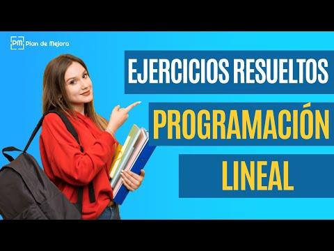 Ejemplos resueltos de programación lineal - Método gráfico (online) con PHP Simplex