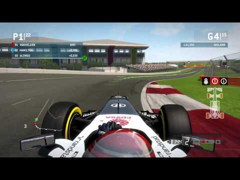F1 2013 Gameplay Ita PC Gran Premio India - A caccia di punti -
