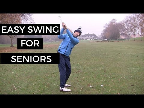 EASY GOLF SWING FOR SENIOR GOLFERS