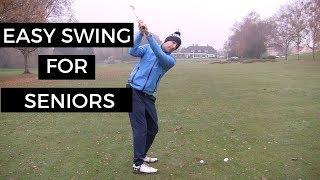 simple golf swing for seniors