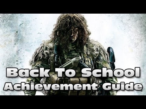 Sniper Ghost Warrior 2 - Back To School Achievement / Trophy Guide |