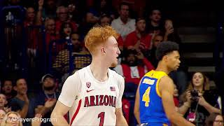 #19 Arizona 87-39 Over San Jose State Highlights