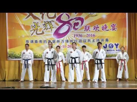 SJKC Wen Hua 80th Anniversary Dinner Taekwon-Do (ITF) Demonstration #2