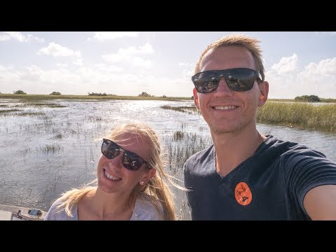 Everglades Florida + nächster Ort auf Weltreise - USA | VLOG #289