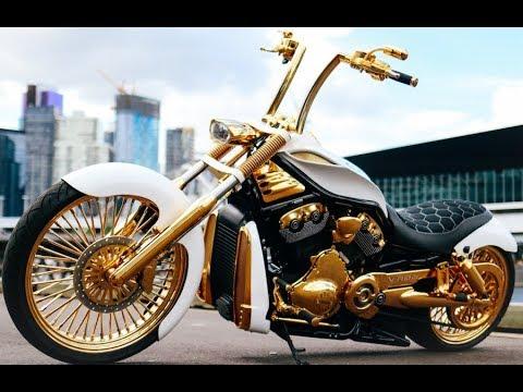 The Golden HARLEY!   Diego H. Vrod - Melbourne, Australia