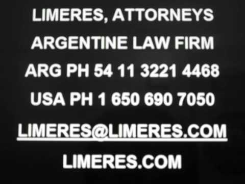 Buenos Aires Argentina Latin America South America Legal Law Attorneys LIMERES