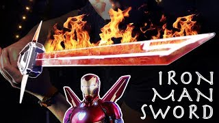 How To Make An IRON MAN SWORD Avengers Infinity War