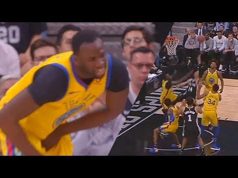 See Karma Catch Up With Draymond Green!