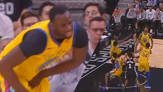 Karma KICKs Draymond Green In the Balls!