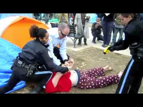 Park Police Tase Occupy DC