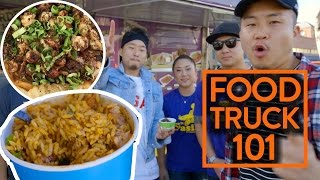 ASIAN CAJUN FOOD & HOW TO START A FOOD TRUCK? - Fung Bros Food