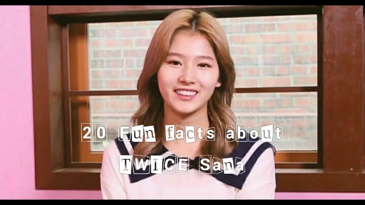 20 TWICE Sana fun facts