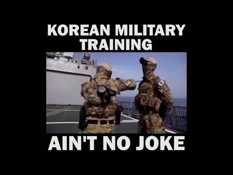 KOREAN MILITARY TRAINING - AIN'T NO JOKE!!!