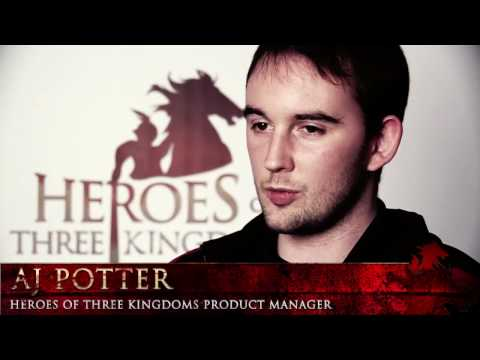 Heroes of Three Kingdoms - AJ Potter Developer Diary [HD]