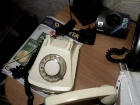 Ретро телефон через VoIP SIP шлюз.
