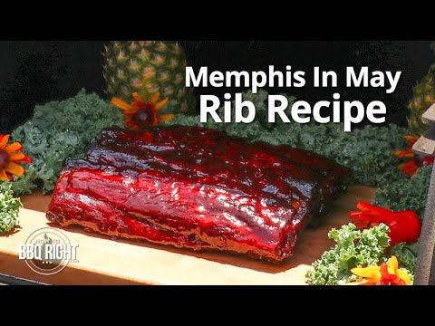 Competition Rib Recipe at Memphis In May BBQ Fest | HowToBBQRight
