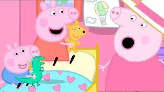小猪佩奇 🐷猪年春节特辑 | 在猪爷爷猪奶奶家过夜 | 粉红猪小妹|Peppa Pig | 动画