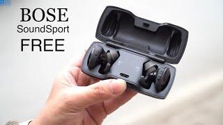 Video Đánh giá tai nghe Bose SoundSport FREE  True Wireless | Âm thanh tuyệt vời download MP3, 3GP, MP4, WEBM, AVI, FLV Mei 2018