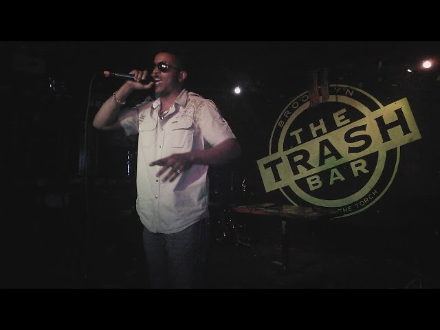 Tabou TMF aka Undefinable One - Live at The Trash Bar in Brooklyn NY 2014 (Part 1 of 5)