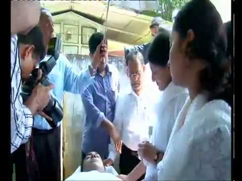 Funeral service of Rejoy Varghese Raju