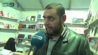 مصر العربية | أيمن العتوم: بعض مؤلفات المعرض لا ترقى للنشر