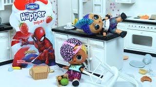 Punk Boi Danone Hüpper Spiderman Arıyor Scribbles ile Mutfağı Dağıtıyor
