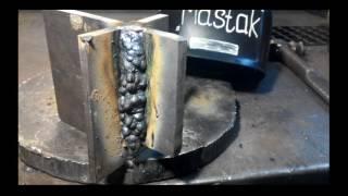Хитрый способ сварки толстого металла вертикально